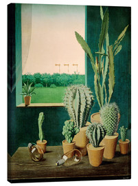 Canvas  Cacti and semaphores - Georg Scholz