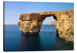 Canvas print  Azure Window - Reemt Peters-Hein