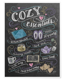 Poster  Cozy Essentials - Lily & Val