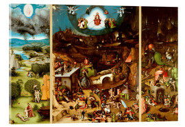 Acrylic print  The Last Judgement - Hieronymus Bosch