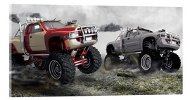 Acrylic print  Monster Truck Race - Kalle60