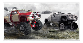 Poster  Monster Truck Race - Kalle60