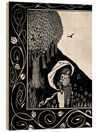 Wood  Le Morte d'Arthur - Aubrey Vincent Beardsley