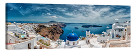 Canvas  Santorini panorama - Stefan Becker