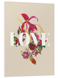 Forex  Exotic Love flowers botanical art - Nory Glory Prints