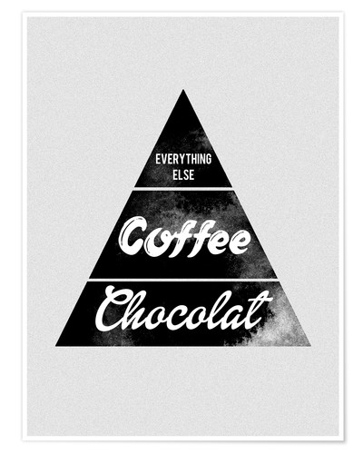 nory glory prints pyramid food graphic coffee chocolat logo parody