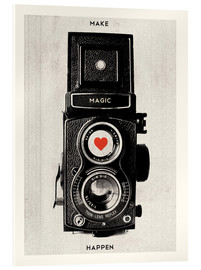 Acrylic glass  Vintage retro camera photographic art print - Nory Glory Prints