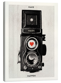 Canvas  Vintage retro camera photographic art print - Nory Glory Prints