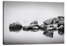 Canvas print  Stones in water - Philipp Dase