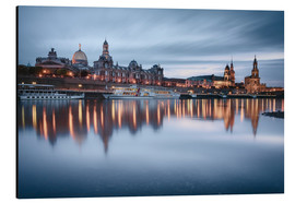 Alu-Dibond  Dresden old town at the blue hour - Philipp Dase