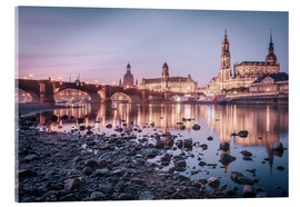 Acrylic print  Dresden old town sunrise - Philipp Dase