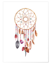 Premium poster  Dream catcher - Nory Glory Prints