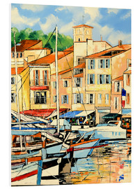 Foam board print  Harbor view - JIEL