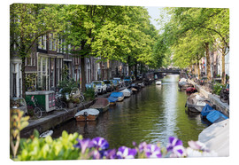 Canvas print  Summer in Amsterdam - George Pachantouris