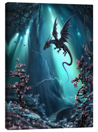 Canvas print  The dragon caves of La Stilla - Susann H.