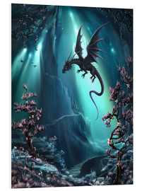 Foam board print  The dragon caves of La Stilla - Susann H.