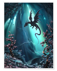 Premium poster  The dragon caves of La Stilla - Susann H.