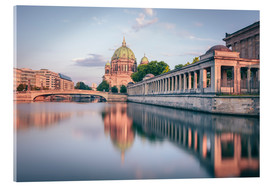Acrylic print  Berliner Dom in the evening light - Philipp Dase