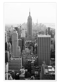 Premium poster Skyscrapers in New York City, USA