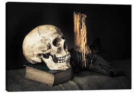 Canvas print  Still Life with Skull