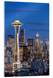 Acrylic print  Space Needle - Seattle - Thomas Klinder