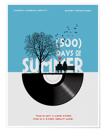 Premium poster 500 days of summer