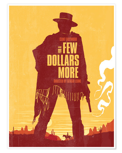 Golden Planet Prints For A Few Dollars More Western Movie