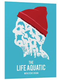 Forex  The life aquatic Steve Zissou art movie inspired - Golden Planet Prints