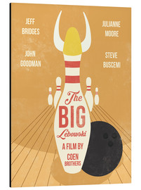 Golden Planet Prints - the big lebowski art print movie insoired