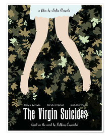 Premium poster The virgin suicides movie inspired art print