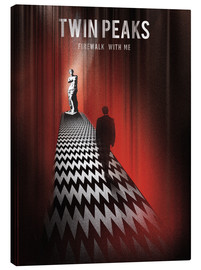 Canvas print  Twin Peaks, firewalk with me - Golden Planet Prints