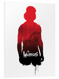 Golden Planet Prints - The warriors illustration art print movie inspired
