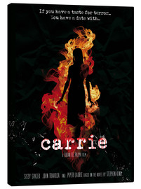 Golden Planet Prints - Carrie horror movie inspired art print