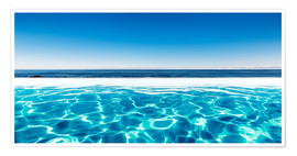 Premium poster  Swimming Pool With A View - Sascha Kilmer