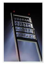 Premium poster Stadium floodlight