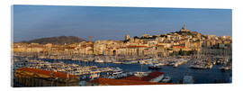 Acrylic glass  marseille panoramic - Vincent Xeridat
