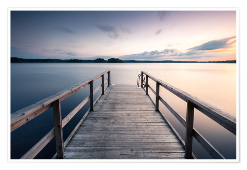 Premium poster Fine Art | Seaview in Sweden