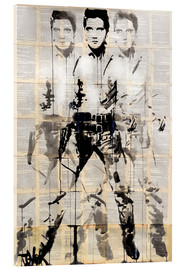 Acrylic print  Elvis after Andy - Loui Jover
