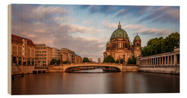 Wood  Berlin Cathedral - golden hour - Photovojac