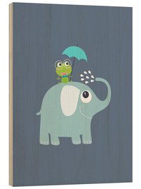 Jaysanstudio - One frog and one elephant