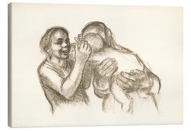 Canvas print  family - Käthe Kollwitz