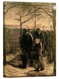 Canvas  suburb - Käthe Kollwitz