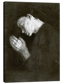 Canvas  Praying girl - Käthe Kollwitz