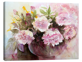 Canvas  paeonies - Eckard Funck