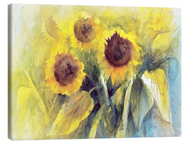 Canvas   sunflower  - Eckard Funck