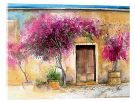 Acrylic glass  Bougainvillea on Mallorca - Eckard Funck