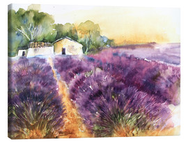 Canvas  Lavender field in Provence - Eckard Funck
