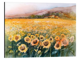 Eckard Funck - Sunflower field in the Luberon, Provence