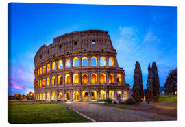 Canvas print  The Colosseum in Rome, Italy - Jan Christopher Becke