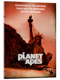 Acrylic print  Planet of the Apes - 2ToastDesign